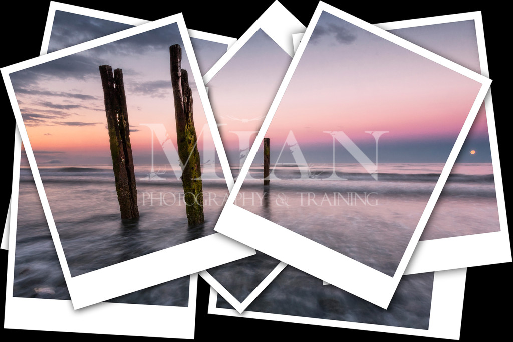 mian photography training free polaroid collage template