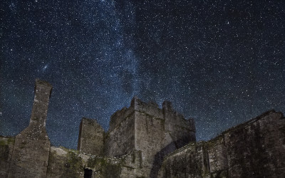 The Milkyway over Bective Abbey, Boyne Valley, Co. Meath