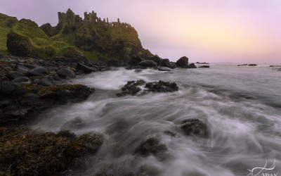 Dunluce Castle Winter Castle Northern Ireland