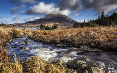 Errigal Mountain Donegal Ireland