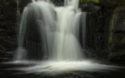 Glenariff River Waterfall County Antrim