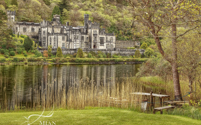 Kylemore Abbey Lake Connemara Galway Ireland