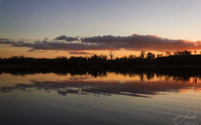 Lavey Lake Sunset Cavan Ireland