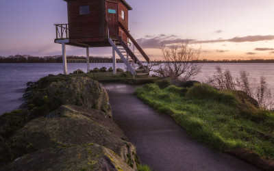 Lough Neagh Jetty County Armagh Oxford Island Discovery Centre Northern Ireland