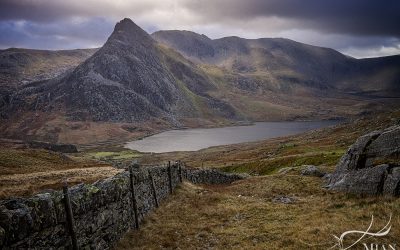 Ogwen Valley in the Afternoon, Wales