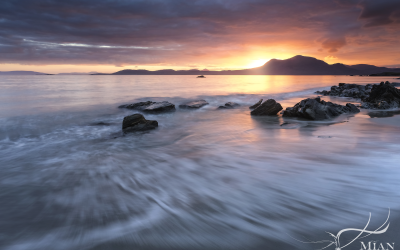 Renvyle Beach, Galway, Connemara, Sunrise