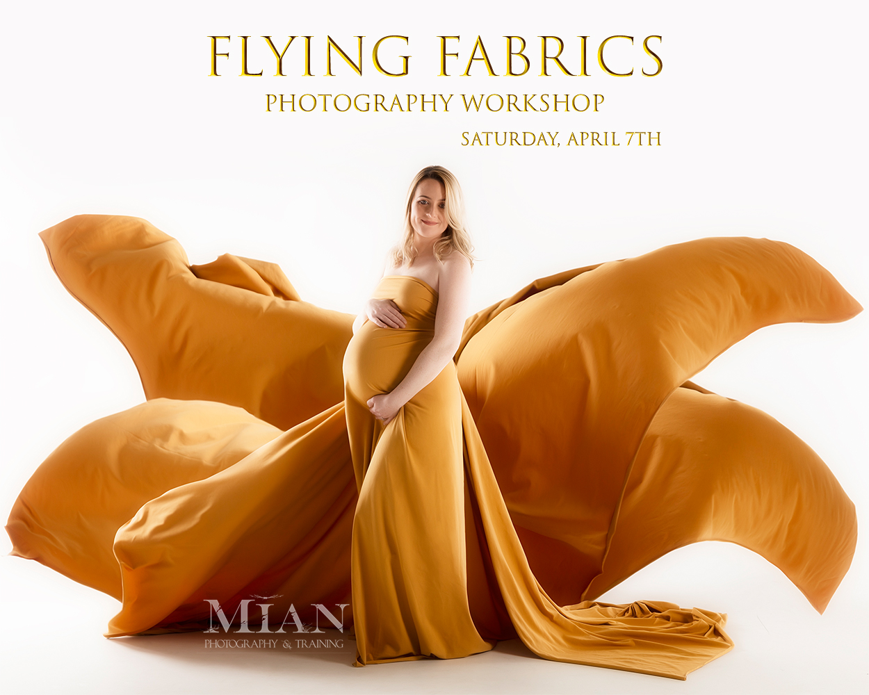 Fabric and Maternity Photography Workshop Cavan Meath